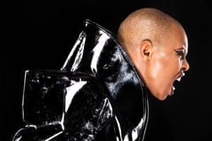 Musician Skin from Skunk Anansie by Linda Nylind