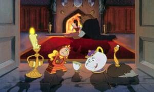 BEAUTY AND THE BEAST, Disney animation, 1991.