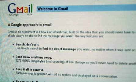 A Gmail account: email has blurred the lines between corporate and private use.