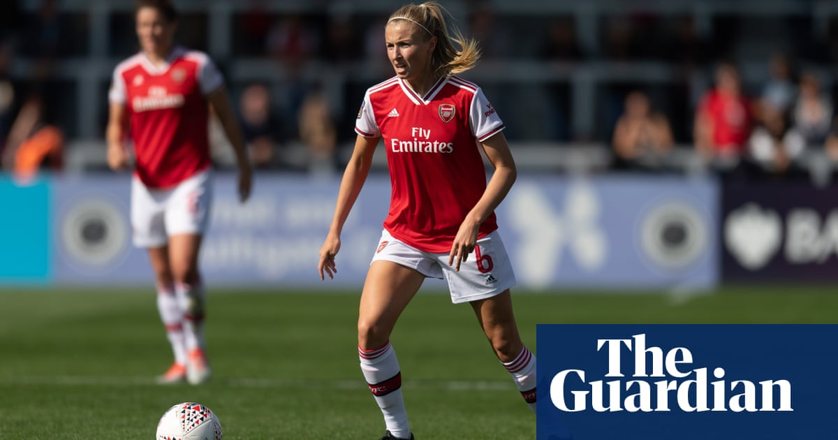 Leah Williamson goes back to the future with Arsenal in Champions League | Suzanne Wrack