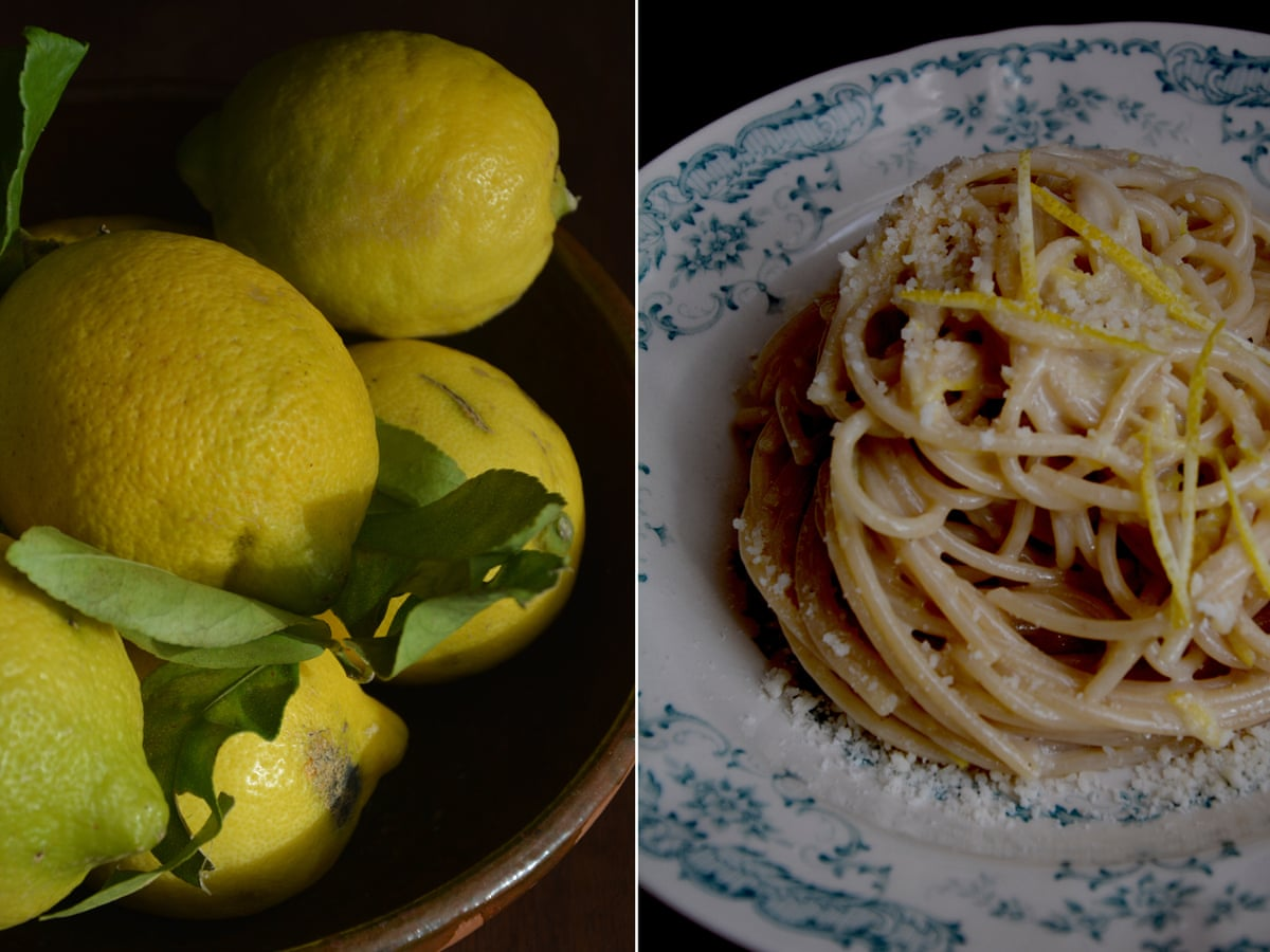 Rachel Roddy's recipe for spaghetti with lemon, parmesan and cream ...