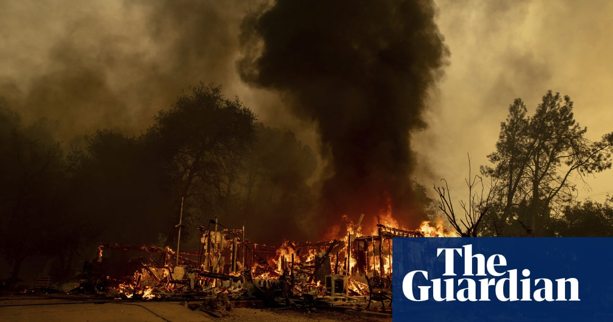 California: firefighters hope cooling temperatures will aid wildfire battle