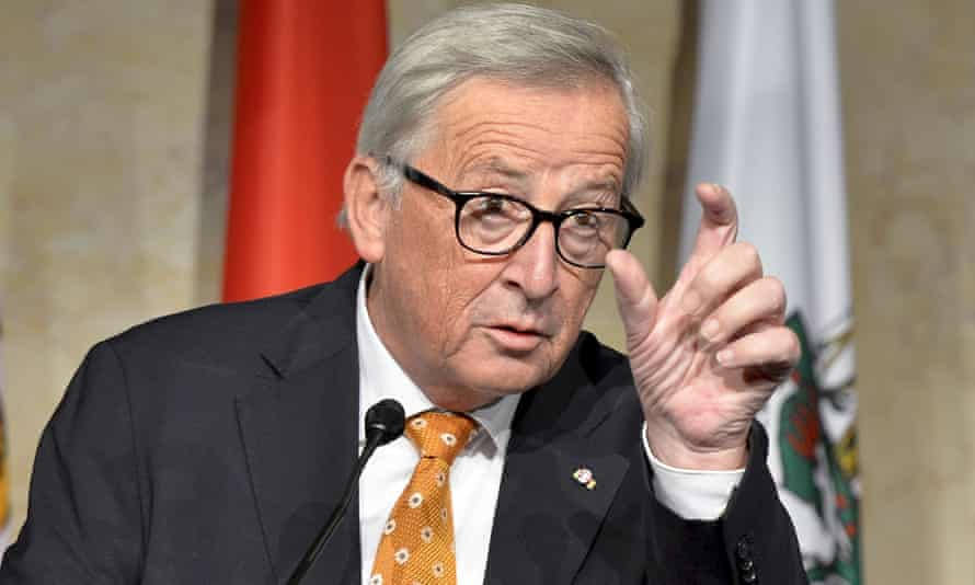 Jean-Claude Juncker stressed that press freedom should have limits