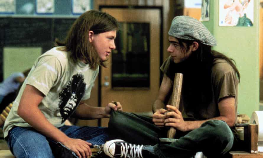 Bongs and beer … two characters in Richard Linklater's Dazed and Confused.