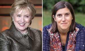 Hillary Clinton and Curtis Sittenfeld.