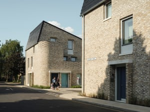 Goldsmith Street social housing in Norwich (have won a RIBA National Award) by MIKHAIL RICHES architects