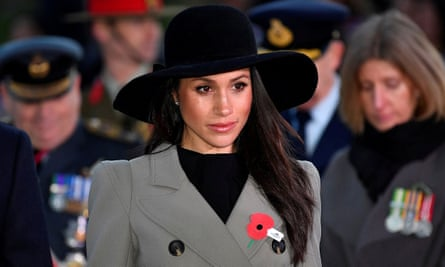 Meghan, the Duchess of Sussex.