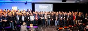 ACTU congress 2015 - delegates take White Ribbon pledge