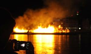 Camera screen snapping blaze