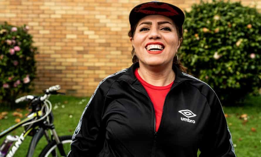 Leila Rahimi says riding a bike has changed her life.