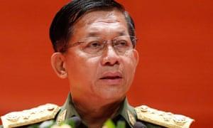 Myanmar's Senior General Min Aung Hlaing