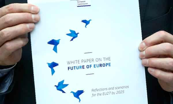 The cover page of the EU white paper.