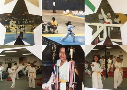 Dina Nayeri taekwondo montage