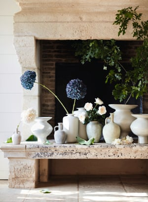 Decorative jugs and vases, from £20, by Oka