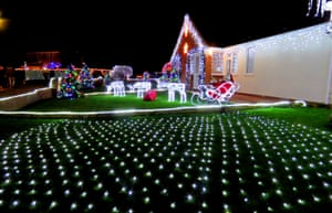 Trinity Close will be lit each night from 4.30pm-10pm until early January to raise funds for two local charities