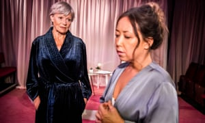 Annabel Leventon and Fiona Marr in Something Unspoken by Tennessee Williams.
