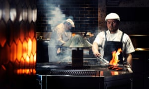 Chefs at the Pascale Bar and Grill at QT Melbourne