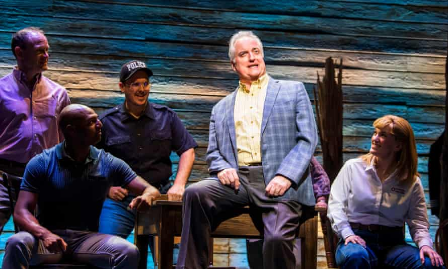 Clive Carter in Come From Away