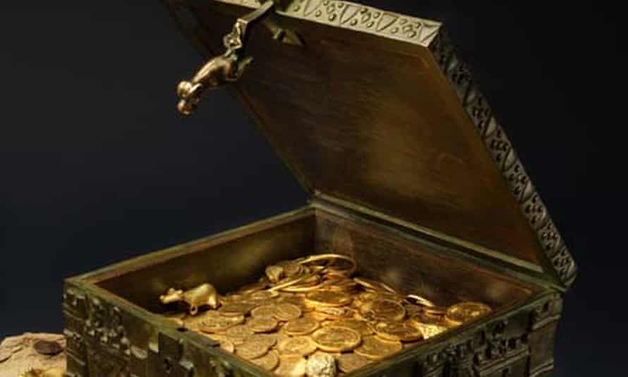 Forrest Fenn's treasure.