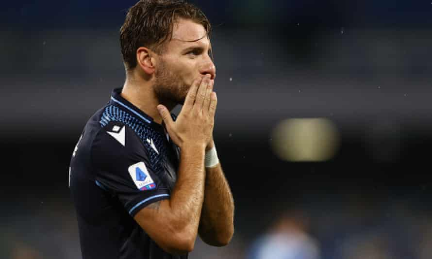 Ciro Immobile won Europe's Golden Shoe award with 36 Serie A goals in 37 matches.