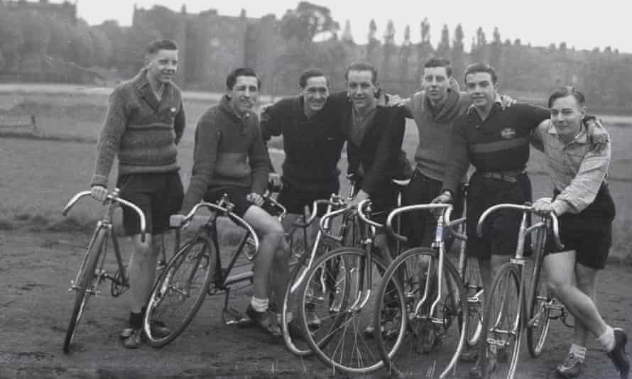 Members of the Clarion cycling club in the 1950s.