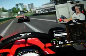 Charles Leclerc has kept his hand in during lockdown by competing in the Virtual Grand Prix series and winning two of the races