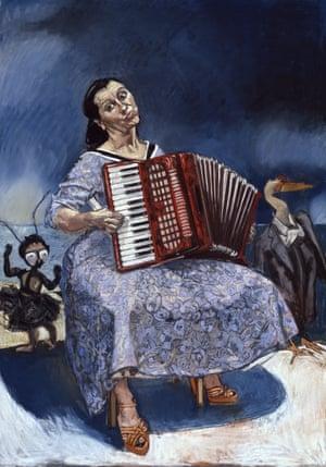 Paula Rego's La Fete, 2003.