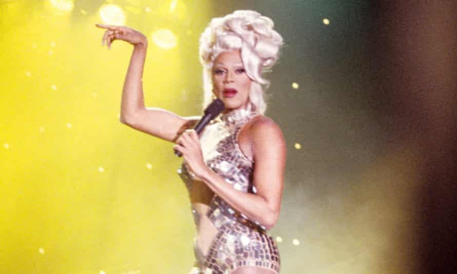 Long to reign over us: RuPaul on, er, Des O'Connor Tonight