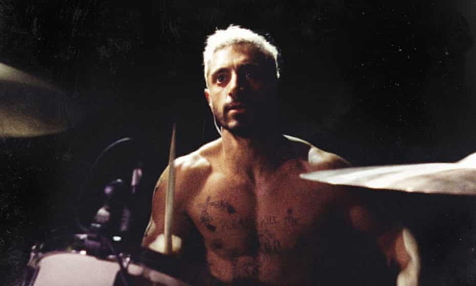 A cymbal of change ... Riz Ahmed in Sound of Metal.