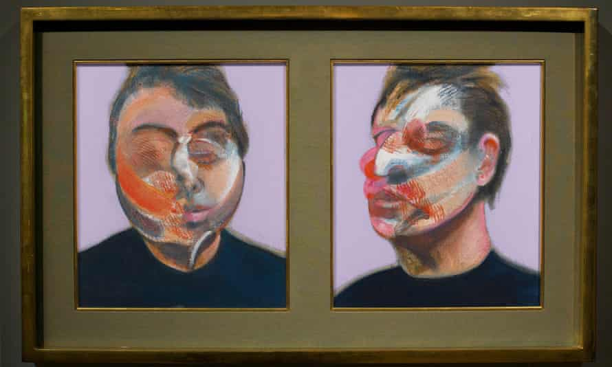 Francis Bacon Two Studies for a Self-Portrait (1970).