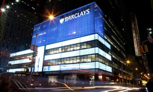 Barclays' headquarters in New York.