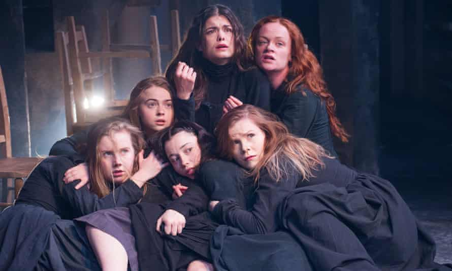 The fear of comely women ... the Old Vic's production of The Crucible.