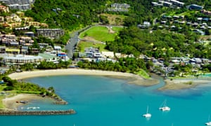 Airlie beach in the Whitsundays