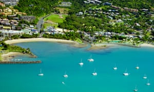 Airlie beach in Whitsundays