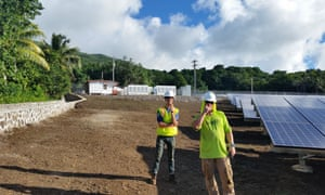 Ta'u island, part of American Samoa, is off the grid and sustainable with solar power