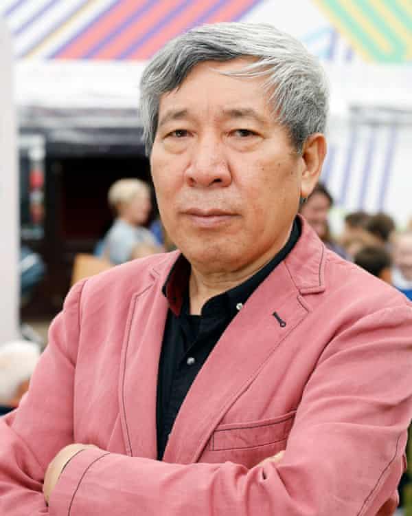 Yan Lianke at the Edinburgh book festival in 2018.
