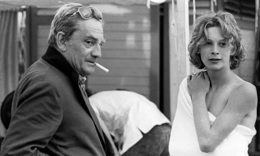 Escalating demands … with Visconti on the set of Death in Venice.
