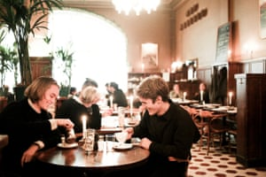 Diners at Pelikan.