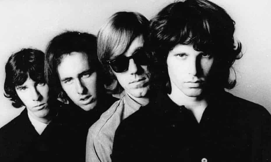 The Doors in 1967 (l to r) John Densmore, Robbie Krieger, Ray Manzarek and Jim Morrison.