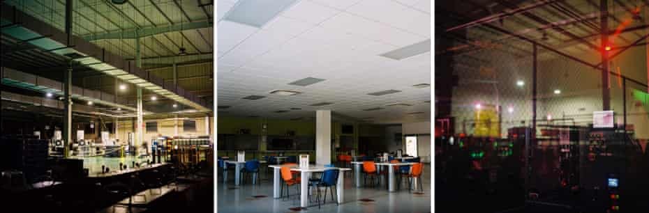 The factory floors and workers' canteens have been quiet since the beginning of lockdown