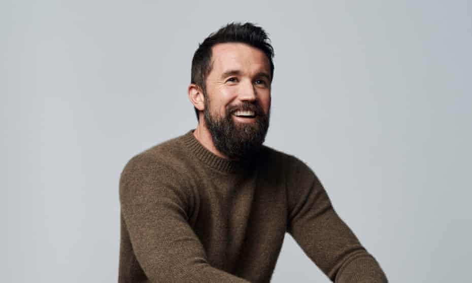 'I was never the funny guy' … McElhenney.