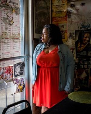 Novelist Angie Thomas  in Jackson, Mississippi
