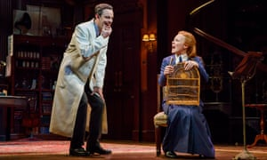 Lauren Ambrose and Harry Hadden-Paton in My Fair Lady
