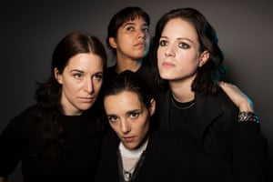 Savages, with Fay Milton, left.