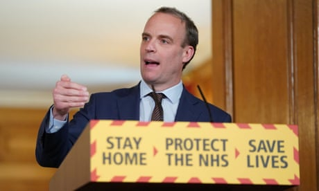 PM will announce modest changes to UK lockdown, says Raab