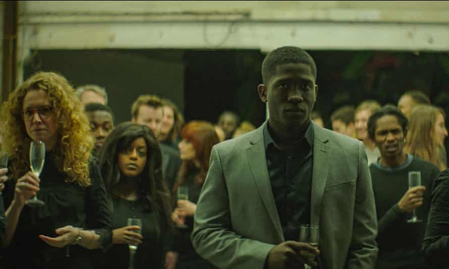 Who controls the narrative of an image? Ola Orebiyi (wearing pale suit) in A Brixton Tale.
