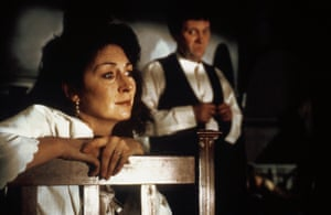 Anjelica Huston and Donal McCann in The Dead, based on the final short story of Joyce's Dubliners.