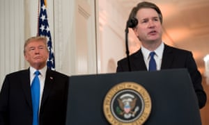 Trump has nominated Brett Kavanaugh, a conservative, to replace Anthony Kennedy.