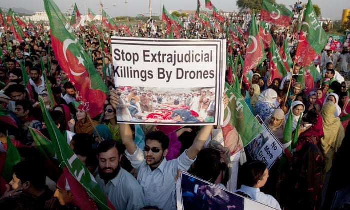 pakistan protest us drone strikes