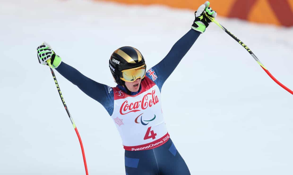 Paralympic skier Millie Knight